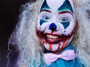 Scary Clowns with Blood