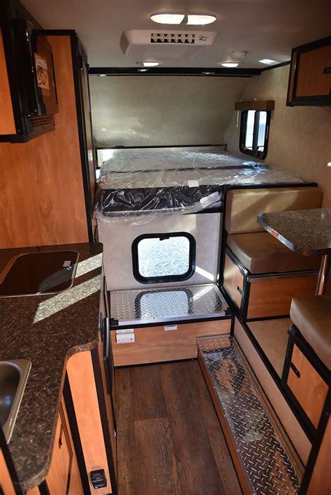 camper truck interior slide bed interiors campers camplite remodel perfect pickup kitchen dinette picking rv camping trailer shells pick truckcampermagazine