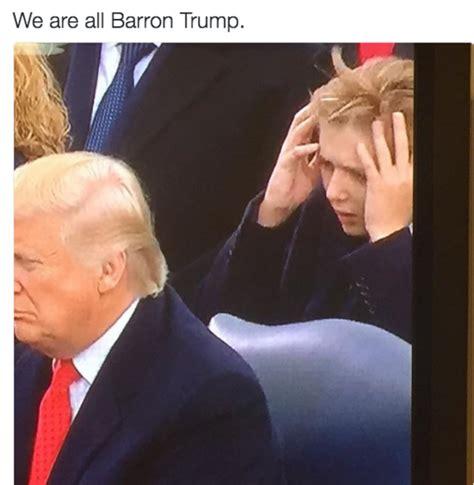 Barron Trump Memes - we re all barron barron trump know your meme