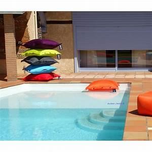 Grande Piscine Pas Cher : coussin piscine pouf 100x100 cm flottant shelto pas ~ Dailycaller-alerts.com Idées de Décoration