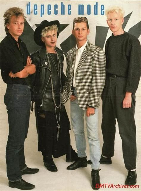 depeche mode in 80 s my legends in 2019 musica