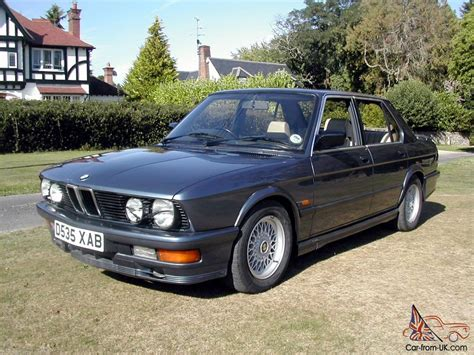 1986d Bmw M535i E28 Manual Full Leather Nice Driving