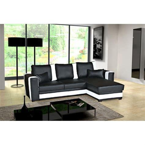 canapé d angle convertible noir et blanc photos canapé d 39 angle convertible noir et blanc