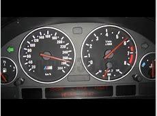 BMW E39 E46 Speed sensor P0500 speedometer repair FIXED
