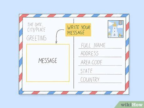 How to Write a Postcard (with Pictures) - wikiHow