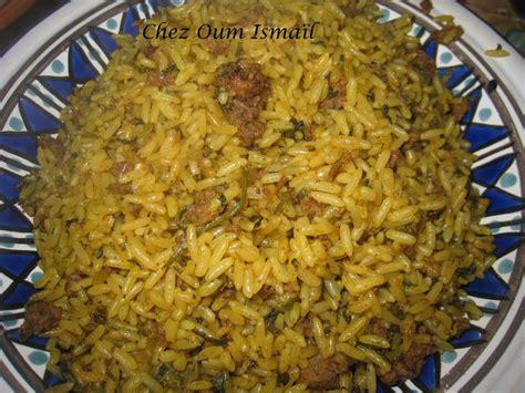 cuisiner piment rooz djerbi riz djerbien la cuisine facile de mymy