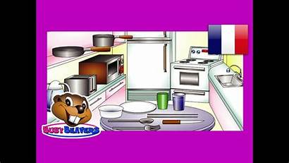 Kitchen French Cuisine Vocabulaire Francais Learning