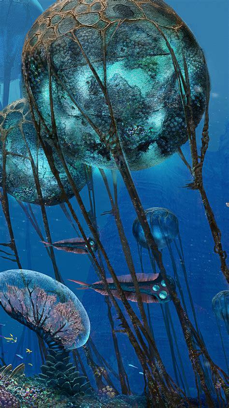 wallpaper subnautica screenshot underwater  games