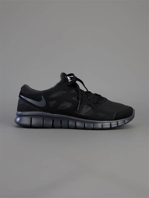 free running 2 lyst nike free run 2 nsw trainer in black for