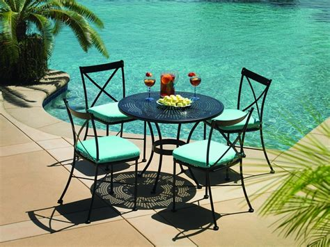 40 wrought iron patio furniture sets for a stylish outdoor