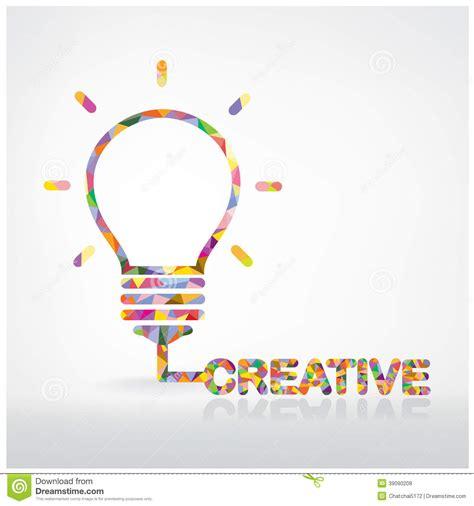 creative light bulb idea concept stock vector image