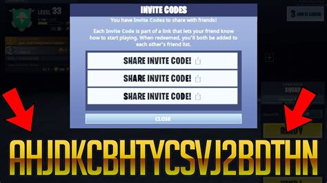 fortnite mobile invite codes     video