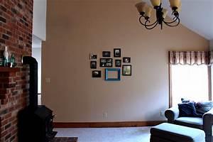 Living room gallery wall decor