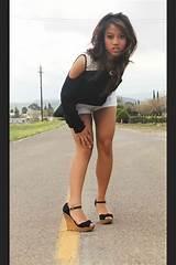 Teen fashion high heels amature