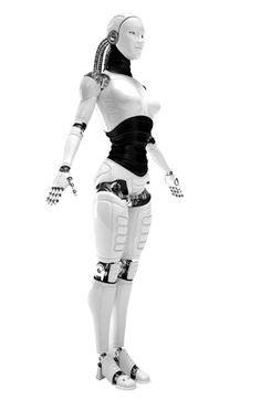future, futuristic, cyberpunk, Humanoid, Robot, android