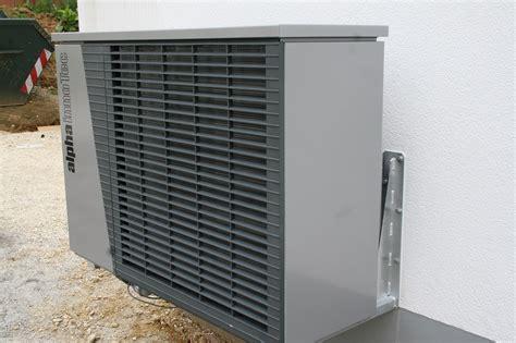 Die Wärmepumpe Alpha Innotec Lwd 70a Ist Aufgestellt