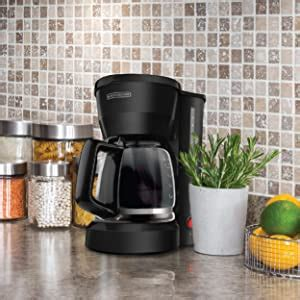 I also show you how much coffee to use when making a pot of coffee for 12 cups, or 10 cups, or 8 cups or 6 cups, or 4 cups this has 2 really if you maker in on or off. Amazon.com: BLACK+DECKER 5-Cup Coffeemaker, Black, DCM600B: Drip Coffeemakers: Kitchen & Dining