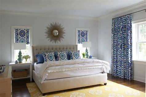 Ikat Window Panels  Contemporary  Bedroom Nightingale