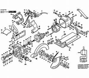 Skil Model Shd77 Circular Saw Genuine Parts