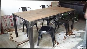 Table De Cuisine Pas Cher Occasion : table basse industrielle occasion choix d 39 lectrom nager ~ Teatrodelosmanantiales.com Idées de Décoration