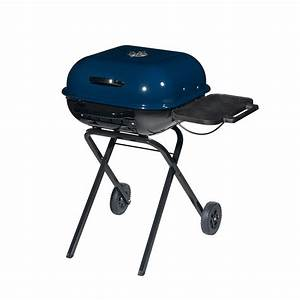 Shop Aussie Walk-A-Bout 19.4-in Midnight Blue Charcoal ...