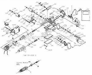 Porter Cable 504 Parts List And Diagram