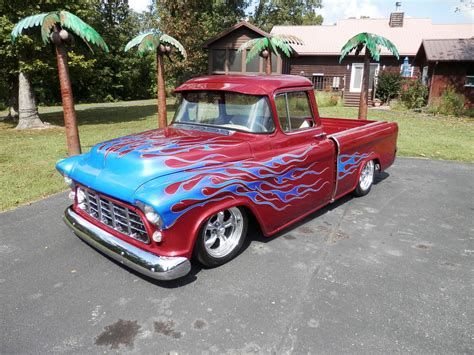 Chevrolet Rods by Killer Truck 1955 Chevrolet Cameo Rod For Sale