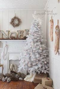 White Christmas Trees on Pinterest