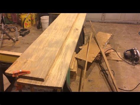 woodworking tip squaring rough cut lumber youtube