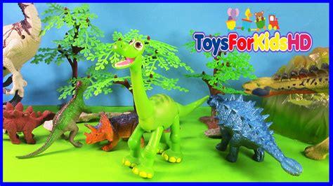 Los Dinosaurios Para Niños Apatosaurus  Videos De