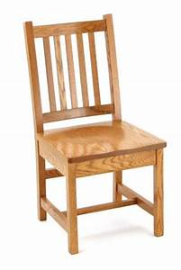 Amish Simple Mission Kitchen Chair