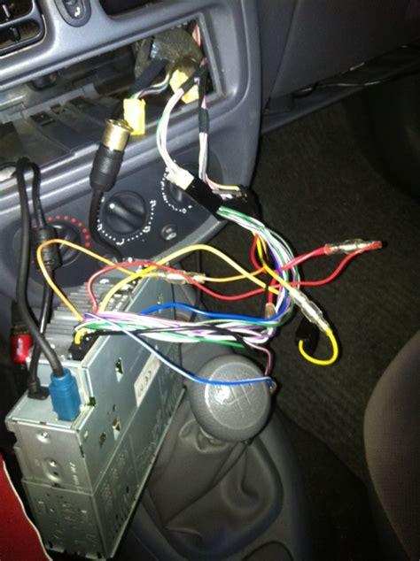 branchement de la remote sur autoradio equipement