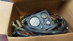 Volvo Penta Gauge Cluster And Wire Harness Md7a