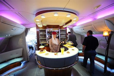 outdoor dining table glass top the emirates a380 airbus the most luxurious on board
