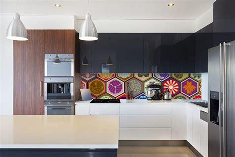 cuisine papier peint symbole credence design originale izoa