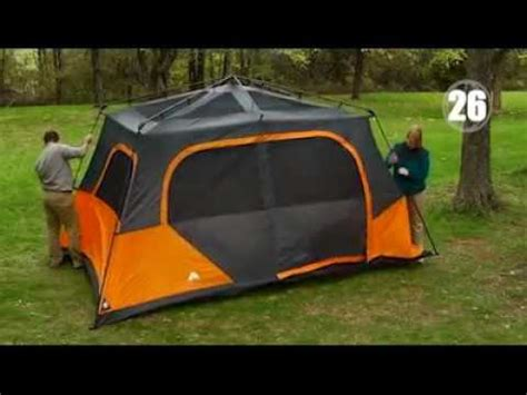 ozark trail 8 person instant cabin tent ozark trail instant 13 x 9 cabin cing tent sleeps