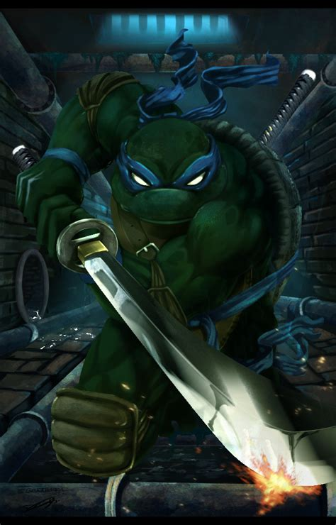 TMNT: Leonardo by Dldimartiny on DeviantArt