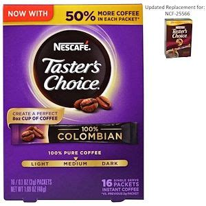 How is instant coffee made? Nescafé, Taster's Choice, Instant Coffee, 100% Colombian, 16 Single Serve Packets, 0.1 oz (3 g ...