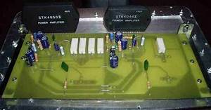 Stk4044 Stk4050 Amplifiers Circuits Pcb