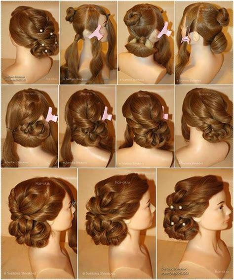 diy wedding hairstyles step by step wonderful diy evening hairstyle