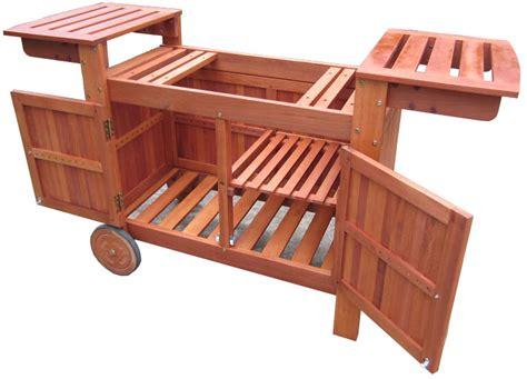 mister cuisine un chariot solide de chez simogas pour plancha 75 cm