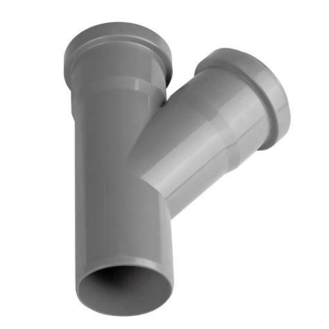 ht rohr abzweig ht rohr abzweig dn 50 50 mm 45 grad pp kunststoffrohr abwasserrohr abflussrohr