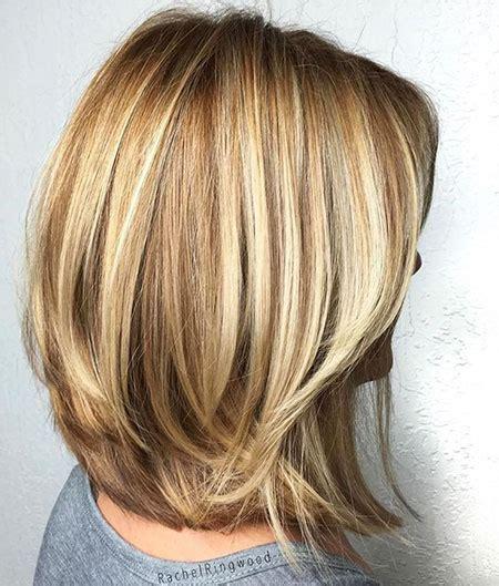 kurze blonde frisuren fuer dickes haar frisuren