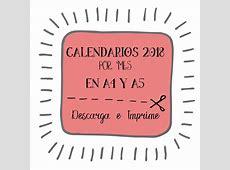 pdf, calendarios,2018, imprimibles, meses, descargar