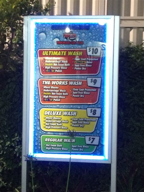 touchless car wash options yelp