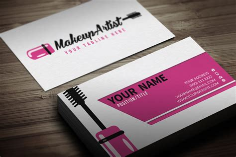 25 Free Pink Business Card Templates For Download