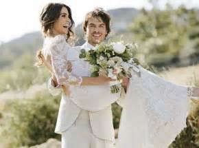 ã es de mariage reed et ian somerhalder les photos officielles de leur mariage féerique dévoilées