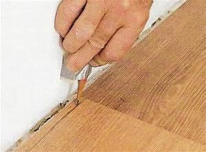 decoration de la maison poser plinthe parquet mur pas droit With pose parquet mur pas droit