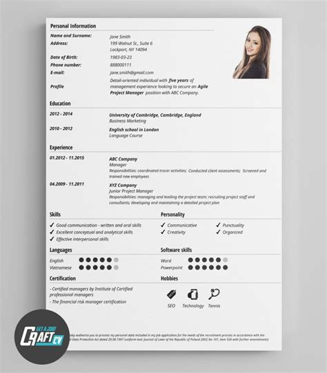 Free Creative Resume Builder by 16 Best Images About Cv Templates Creative Cv Cv