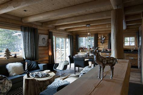 deco cuisine appartement chalets nordika constructeur bois à bolquère pyrénées